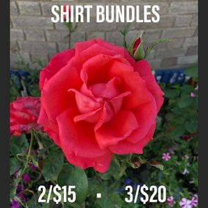 Tops - SHIRT BUNDLES